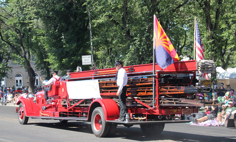 PAAC 1931 Seagrave fire truck in first parade appearance