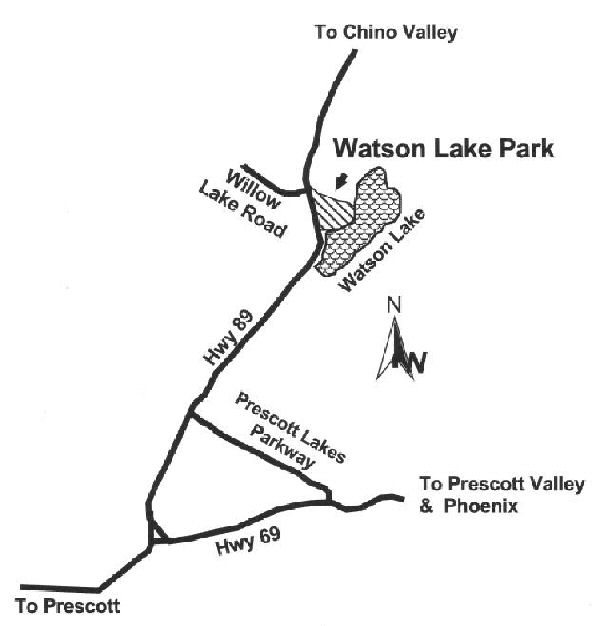Map for Watson Lake Show location